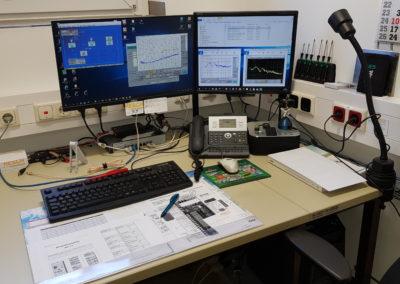 Die Übernahme der Messdaten im EMV-Labor