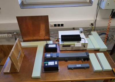 HF- und ESD-Messplatz im EMV-Labor